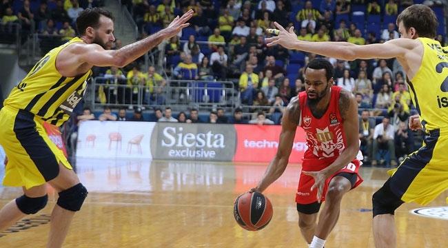 Fenerbahçe Beko Kızılyıldız'a geçit vermedi