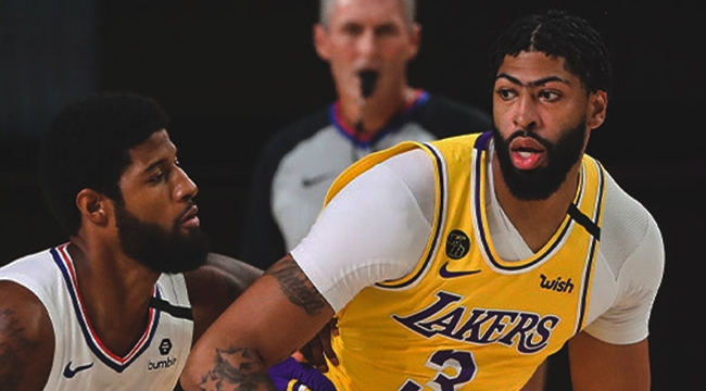 Los Angeles Derbisi'nde kazanan Lakers