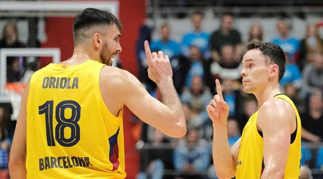 Oriola ve Kuric Barcelona'da kaldı