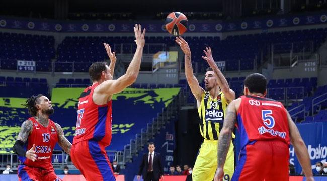 Fenerbahçe Beko uzatmada sonunu getiremedi