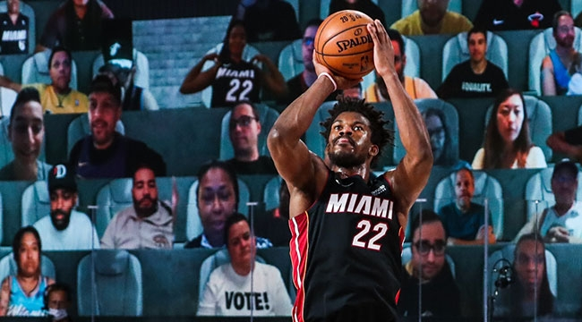 Miami Heat Jimmy ile güldü
