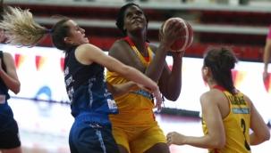 Bellona Kayseri Basketbol'dan Canik Belediyespor'a 53 sayı fark