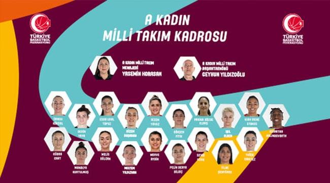 A Milli Kadın Basketbol Takımı, Sırbistan maçının hazırlıklarına başladı
