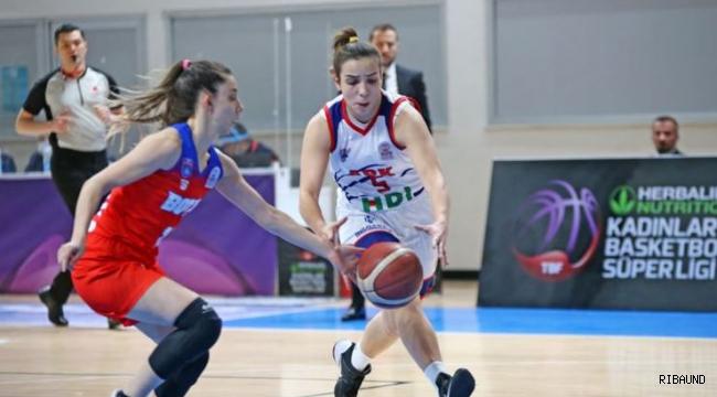 BOTAŞ'tan Adana Basketbol'a 28 sayı fark