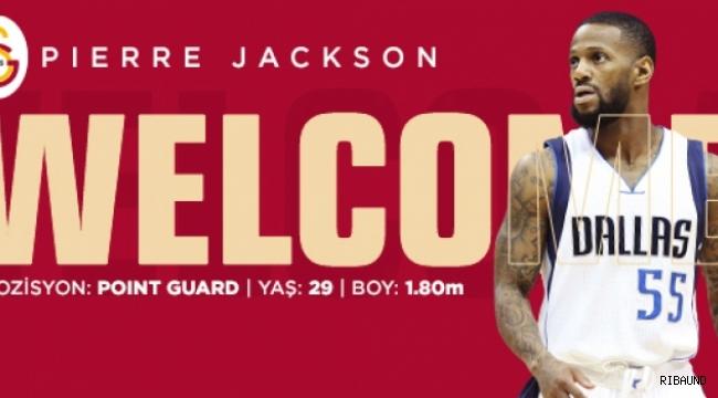 Galatasaray, Pierre Jackson'ı kadrosuna kattı