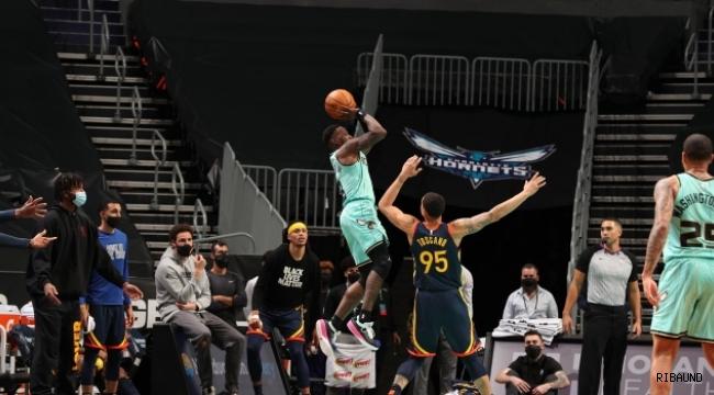 Hornets, Warriors'ı son saniyede yıktı