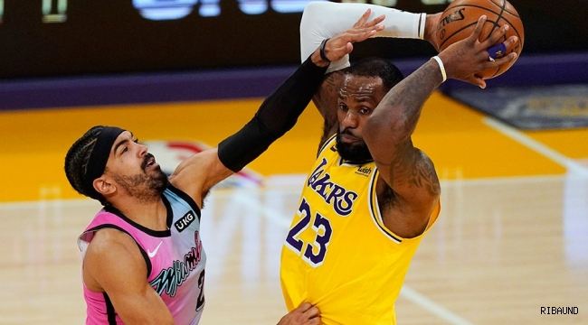 Lakers, Miami Heat'e boyun eğdi