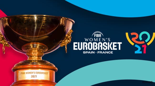 FIBA 2021 Kadınlar Avrupa Şampiyonası'nda C Grubu'ndayız