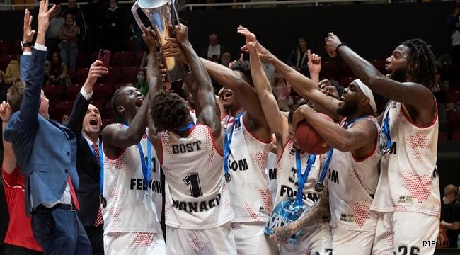 7DAYS EuroCup'ta şampiyon Monaco