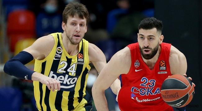 Fenerbahçe Beko CSKA deplasmanında
