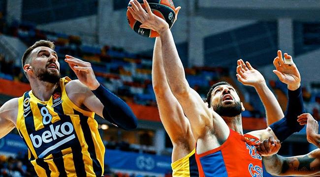 Fenerbahçe Beko seriyi eşitleme fırsatını değerlendiremedi