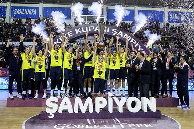 Kupada şampiyon Fenerbahçe