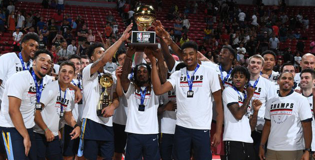 NBA Yaz Ligi Şampiyonu Grizzlies