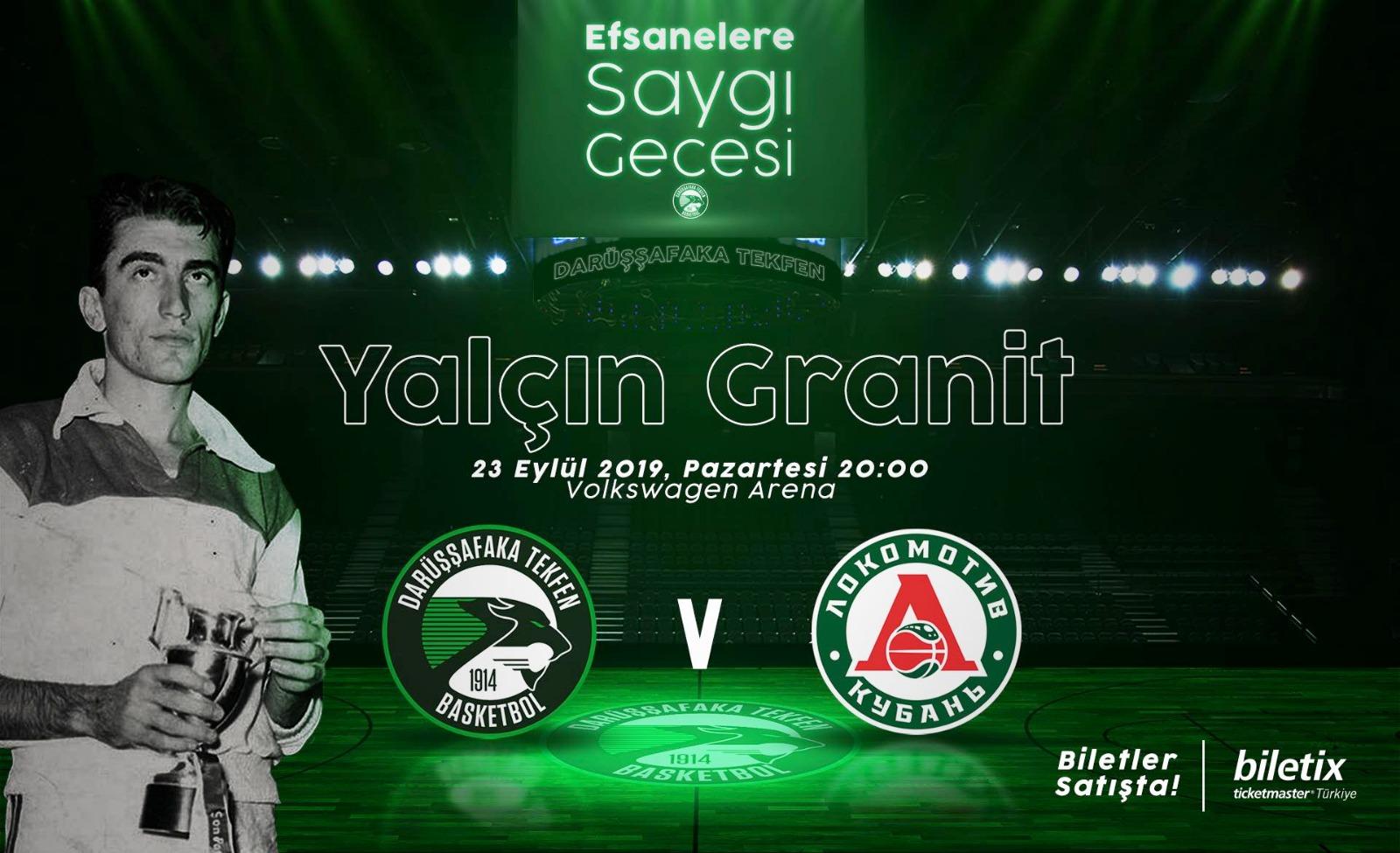 Daçka'dan Efsanelere Saygı; Yalçın Granit Gecesi ve hazırlık maçı