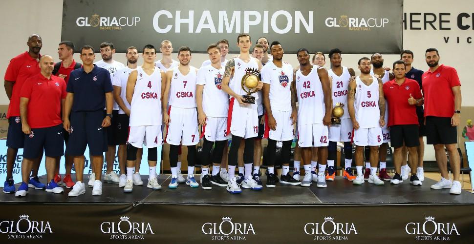 Gloria Cup şampiyonu CSKA Moskova