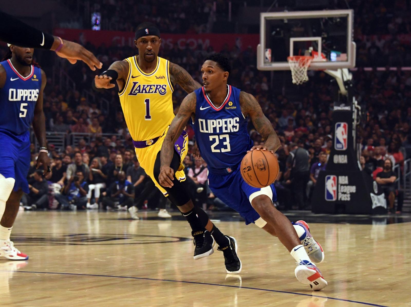 Los Angeles derbisi Clippers'ın
