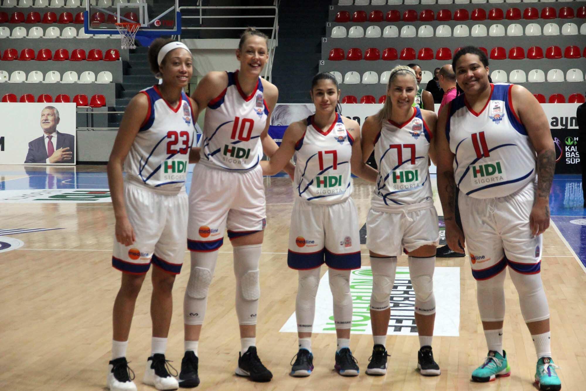 Büyükşehir Belediyesi Adana Basketbol'dan farklı galibiyet!