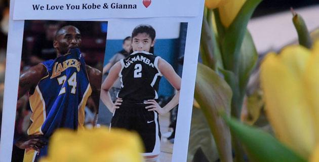 Kobe ve Gianna'nın anısına 2 ve 24